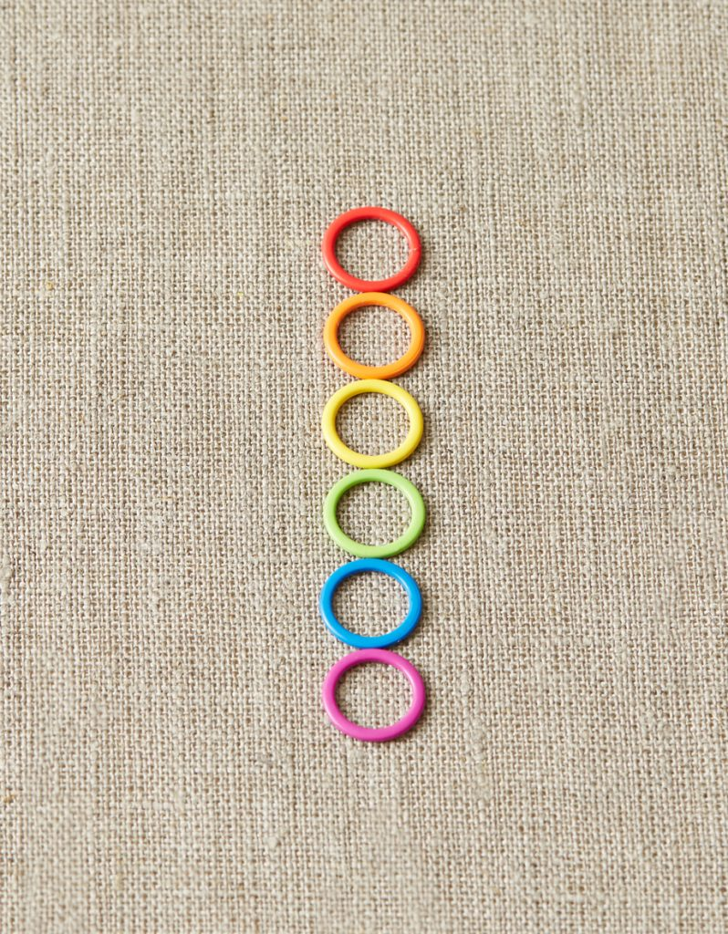 Colored Ring Stitch Markers (Normal)