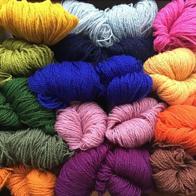 ラトビアの毛糸